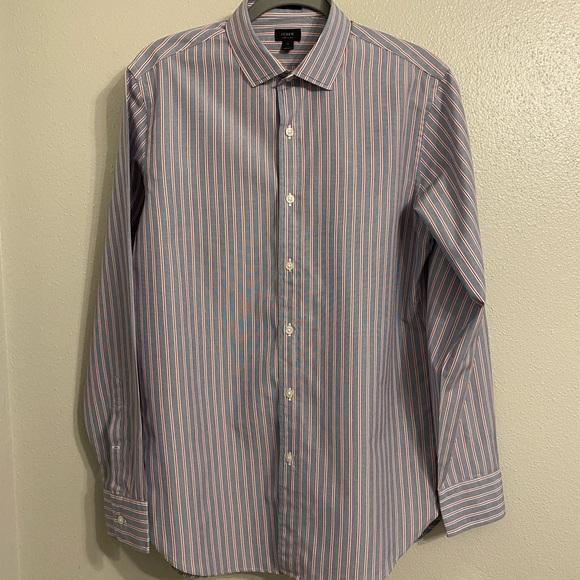 J Crew Ludlow Collection Men's Dress Shirt Sz M
